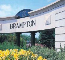 Brampton sign